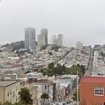 Nob Hill viewed from Telegraph Hill