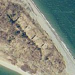Fort Standish on Lovell Island (Google Maps)
