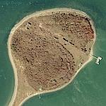 Fort Andrews on Peddocks Island (Google Maps)