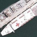 USNS Mercy (Hospital ship) (Google Maps)
