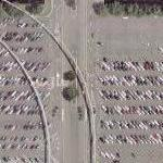 Disney World - Epcot Parking Lot (Google Maps)