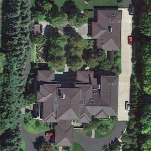 Lebron James' House (Google Maps)