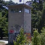 Berlin Wall watchtower (StreetView)