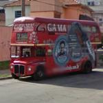 London bus in São Paulo