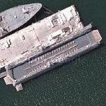 Floating dry dock (AFDM) (Google Maps)