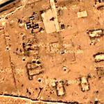 Bomb Craters within Al Qaim (Google Maps)