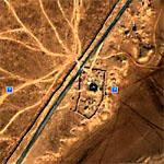 Desert Paths Leading From Syria Into Iraq (Google Maps)
