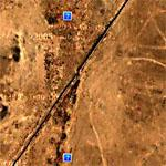 Gap In Syria/Iraq Border Fence (Google Maps)
