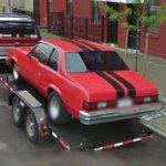 Chevy Malibu hot rod (StreetView)