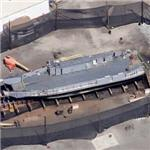 Landing Craft Utility (LCU-1658) (Google Maps)