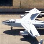 Douglas A-3 Skywarrior (Google Maps)