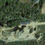Castle of Csesznek (Google Maps)