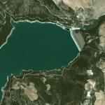 Occhitto dam and reservoir