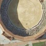Bullfight at the moment (Google Maps)