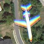 Flying Plane (Google Maps)