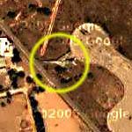 Camouflaged Lybian TU-22 Tupolev Bomber (Google Maps)