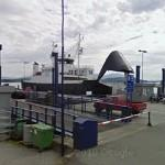 Ferry with the mouth open (StreetView)