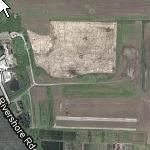 Shape of Washington in a field