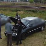Reparing a car