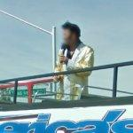 Elvis impersonator tour guide