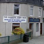 The Carron Fish Bar - Birthplace of the deep fried Mars Bar