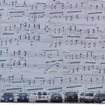 Giant Sheet Music (StreetView)