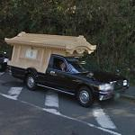 Japanese hearse (StreetView)