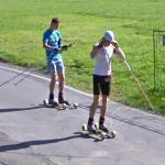 Roller Skiing (StreetView)