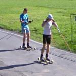 Roller Skiing