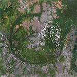 Wembo-Nyama giant impact crater