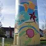 Artistic Water Tower (StreetView)