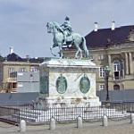 Statue of Frederick V (King of Denmark and Norway)