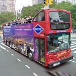 Gray Line Double-Decker Tour Bus