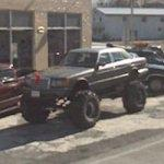 Bigfoot Mercedes (StreetView)