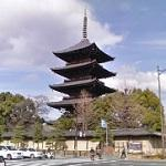 Five-story pagoda of Tō-ji Temple