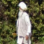 Wearing a turban (StreetView)