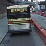 Bieber bus (StreetView)