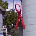 Big Red Ribbon (StreetView)