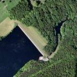 Dale Dike reservoir and dam (Google Maps)