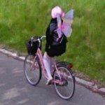 Butterfly Woman (StreetView)