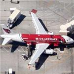 United Airlines Airbus A319 in Cardinals livery