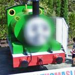 Percy the Small Engine Face Blur (StreetView)
