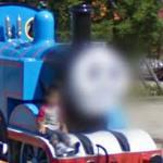 Thomas the Tank Engine Face Blur
