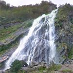Powerscourt Waterfall (StreetView)