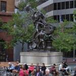 'The Mechanics Monument' by Douglas Tilden