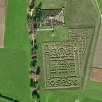 Rosegg Castle mazes