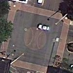 Site of the first organized baseball game (Google Maps)