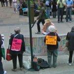 Grandmothers Against the War - Peace Vigil