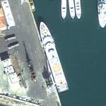 Superyacht Radiant (Google Maps)