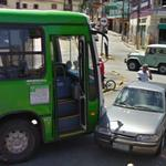 Bus vs Car crash (StreetView)